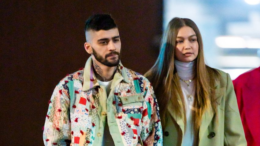 Zayn and Gigi had a baby