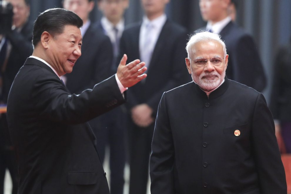 China responded to India