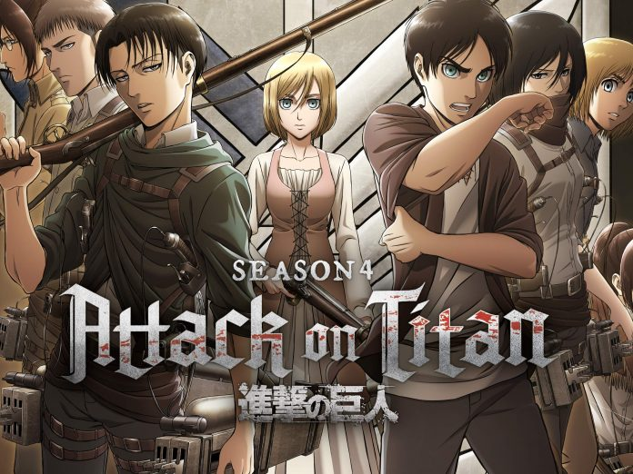 """Attack On Titan"" Season 4"