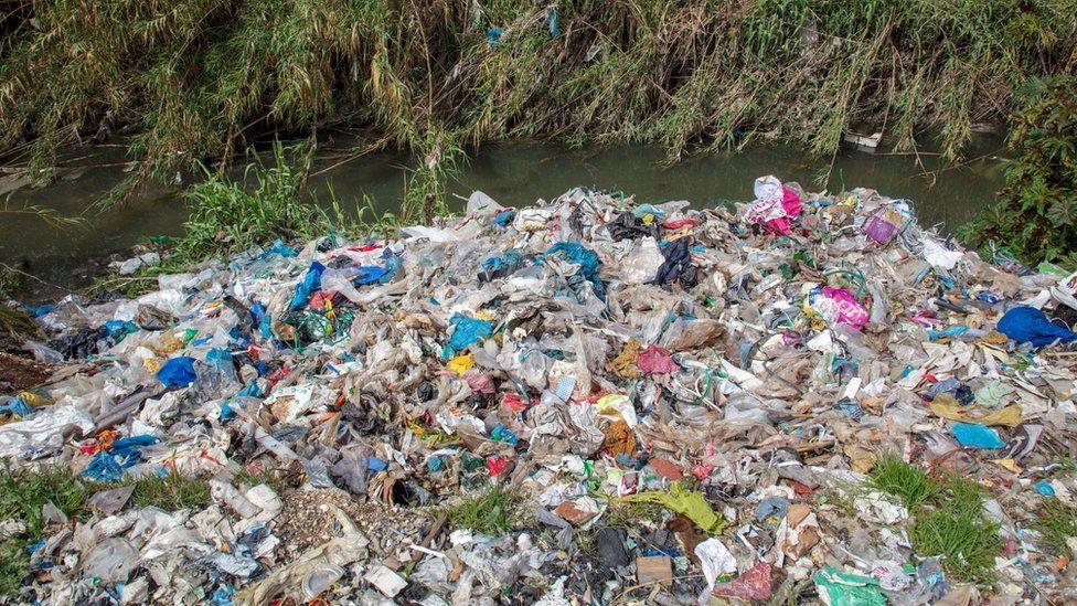 UK's plastic waste